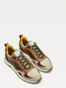 Слика на COLOUR-BLOCKED MIXED TEXTURE TRAINERS
