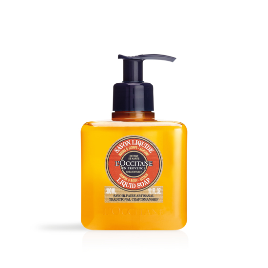 Picture of Shea Hands & Body Citrus Liquid Soap 300ml.