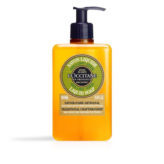Picture of Liquid Soap Shea Butter - Verbena 500ml.