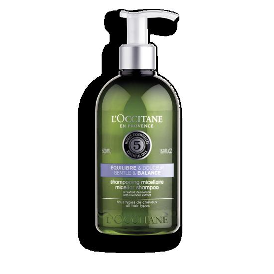 Picture of Aromachologie Gentle & Balance Micellar Shampoo 500ml.