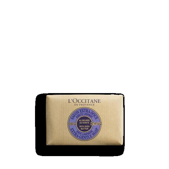 Слика на Shea Butter Extra Gentle Soap - Lavender 250gr.Сапун од шеа путер и лаванда 250gr.
